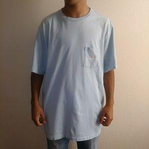 Vineyard Vine Light Blue Tee Shirt